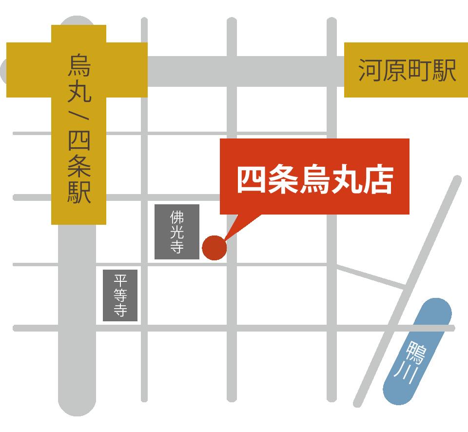 扇町店MAP